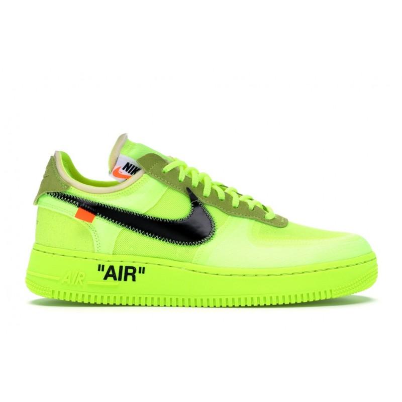 tankar på nya bilder av väldigt billigt Nike Air force One Off-White Volt